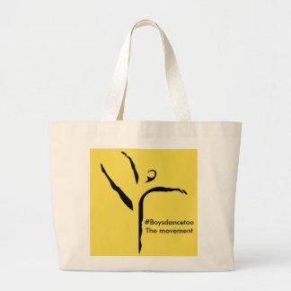 #Boysdancetoo het bewegingsCanvas tas