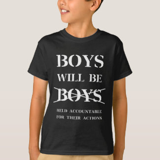 BoysWillBeBoys_Black T Shirt