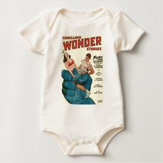 Boze Blauwe Reus en Tieners Baby Shirt