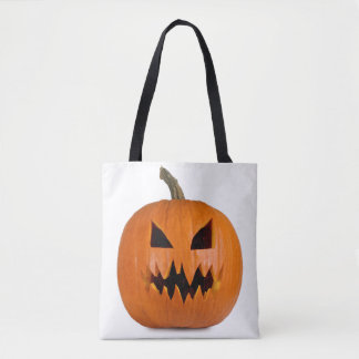 Boze Halloween pompoen Draagtas