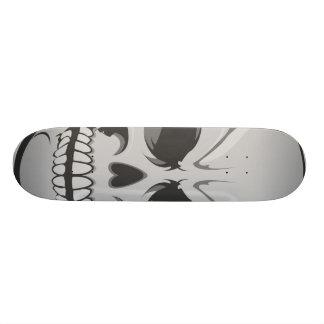 Boze Schedel: Vector Kunst: Het Skateboard van de