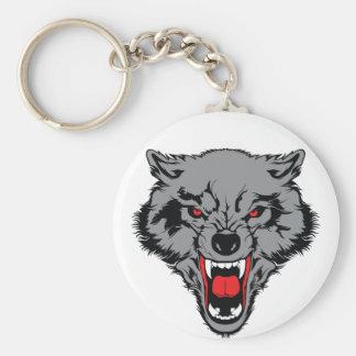 Boze Wolf Sleutelhanger