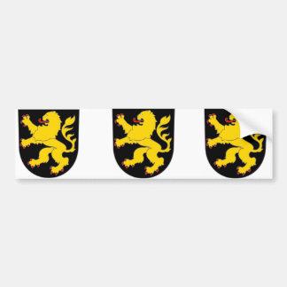 Brabant, België Bumpersticker