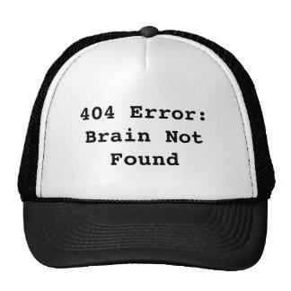 Brain Not Found Trucker Petten