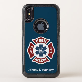 Brand en Redding OtterBox Commuter iPhone X Hoesje