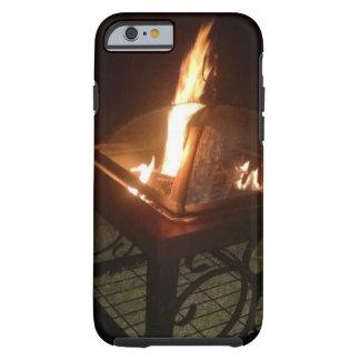 Brand op een Nacht Iphone 6 van de Zomer Hoesje