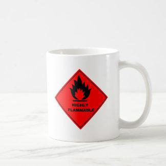 Brandbaar Waarschuwingssein Koffiemok
