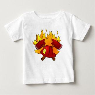 Brandbestrijder Baby T Shirts
