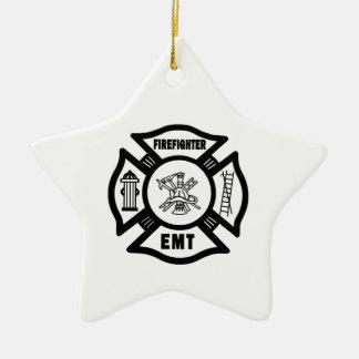 Brandbestrijder EMT Keramisch Ster Ornament