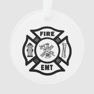 Brandbestrijder EMT Ornament