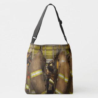 Brandbestrijder - het Toestel van de Bunker Crossbody Tas