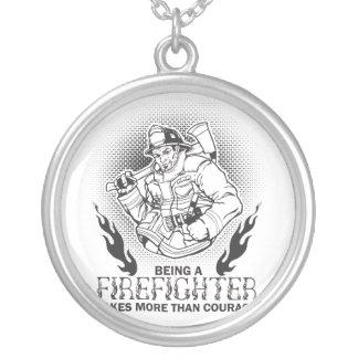 Brandbestrijder Zilver Vergulden Ketting