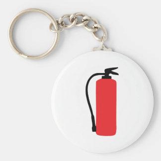 brandblusapparaat basic ronde button sleutelhanger