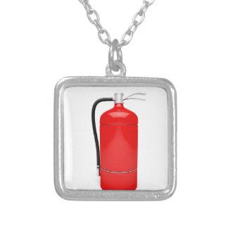 Brandblusapparaat Zilver Vergulden Ketting