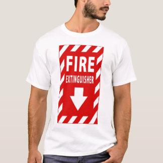 brandblusapparaatteken t shirt