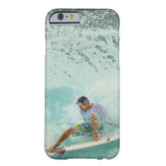 Branding van de Surfplank van de Golf van Surfer Barely There iPhone 6 Hoesje