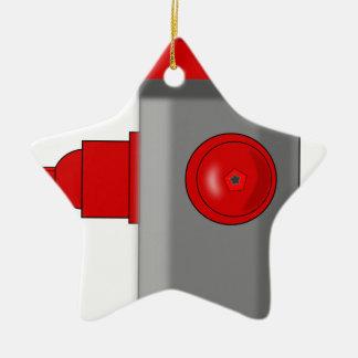 Brandkraan Keramisch Ster Ornament