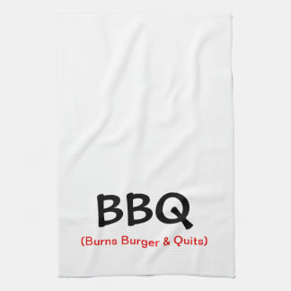 Brandt Hamburger & houdt op BBQ met de Handdoek
