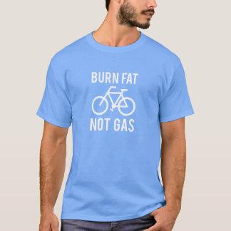 brandwond vet, niet gas t shirt