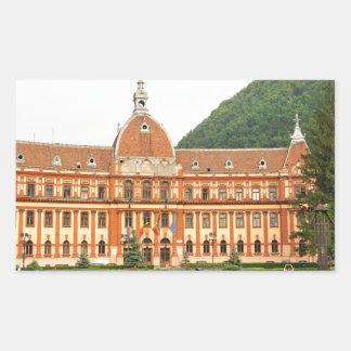 Brasov in Transsylvanië, Roemenië Rechthoekvormige Sticker