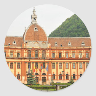 Brasov in Transsylvanië, Roemenië Ronde Stickers