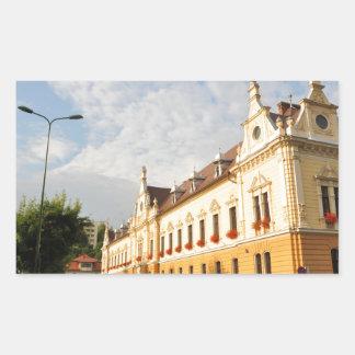 Brasov, Roemenië Rechthoekige Sticker