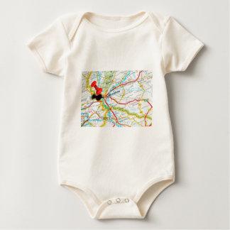 Bratislava, Slowakije Baby Shirt
