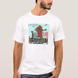 Bratzilla vernietigt de Douane van Madison T Shirt
