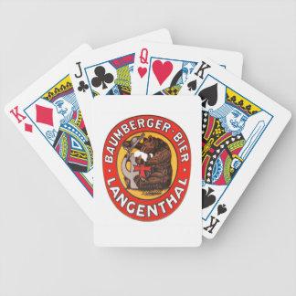Brauerei Baumberger Langenthal Kartenspiele Pak Kaarten