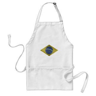 Braziliaanse diamant standaard schort