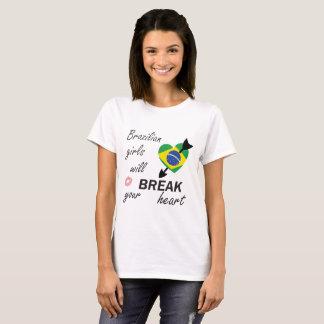 Braziliaanse Heartbreaker T Shirt