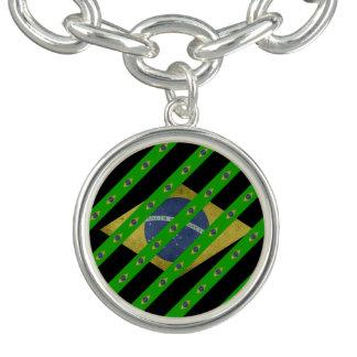 Braziliaanse strepenvlag armbandje