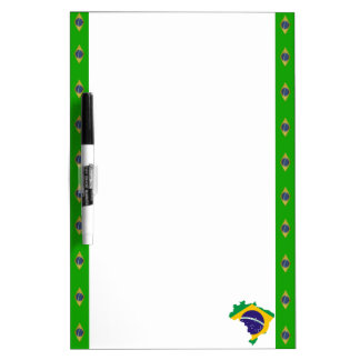Braziliaanse strepenvlag whiteboards