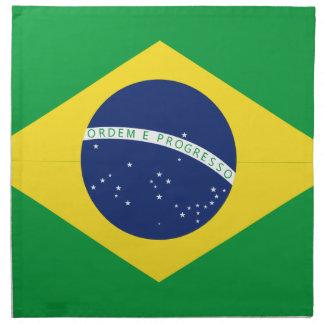 Braziliaanse vlag katoenen servet