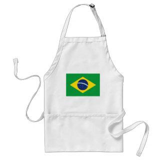 Braziliaanse vlag standaard schort