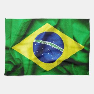 Braziliaanse Vlag Theedoek