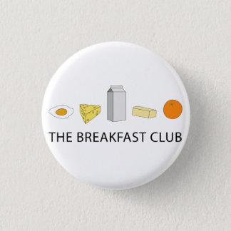 Breakfast Club Ronde Button 3,2 Cm