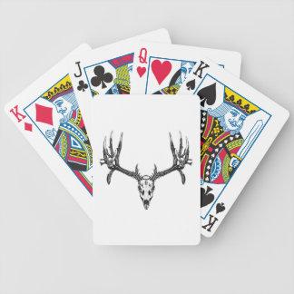 Brede bokschedel pak kaarten