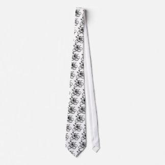 breek de cyclusstropdas persoonlijke stropdas