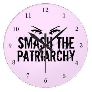 Breek de Feministe van het Patriarchaat Grote Klok