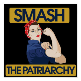 Breek het Patriarchaat Poster