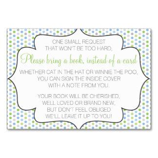 Breng een boek in plaats van een kaart