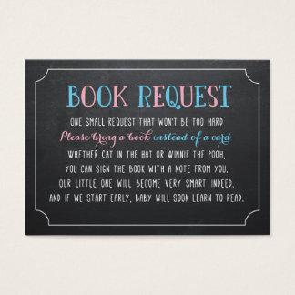 Breng een Boek in plaats van een kaart, openbaart Visitekaartjes