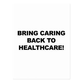 Breng het Geven terug naar Gezondheidszorg Briefkaart