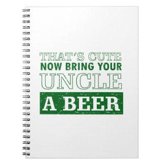 Breng Oom een Bier Ringband Notitieboek