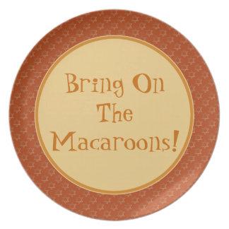 Breng op de Makarons! Dienend Bord