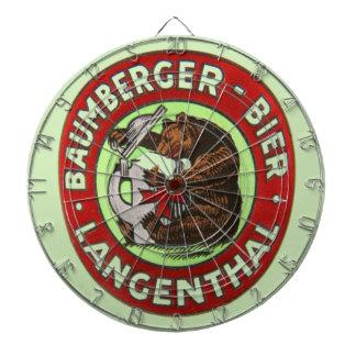 Brewerie Baumberger Langenthal, die Schweiz Dartbord