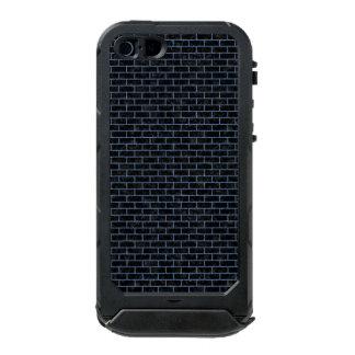 BRICK1 ZWART MARMEREN & BLAUW DENIM INCIPIO ATLAS ID™ iPhone 5 HOESJE