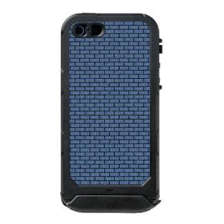 BRICK1 ZWART MARMEREN & BLAUW DENIM (R) INCIPIO ATLAS ID™ iPhone 5 HOESJE