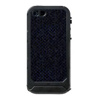 BRICK2 ZWART MARMEREN & BLAUW LEER INCIPIO ATLAS ID™ iPhone 5 HOESJE